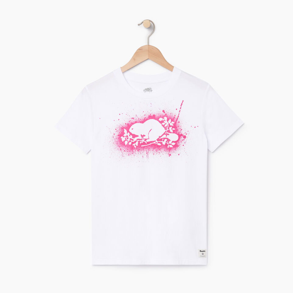 Roots-undefined-Womens Cooper Outline T-shirt-undefined-A