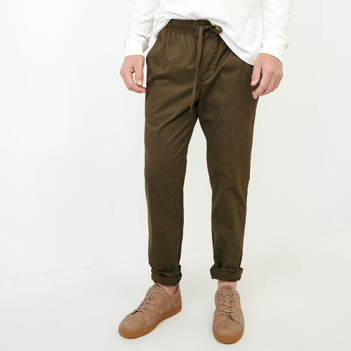 Roots-Clearance Men-Essential Pant-Fatigue-A
