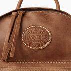 Roots-Leather Backpacks-Trans Canada Student Pack-Natural-E