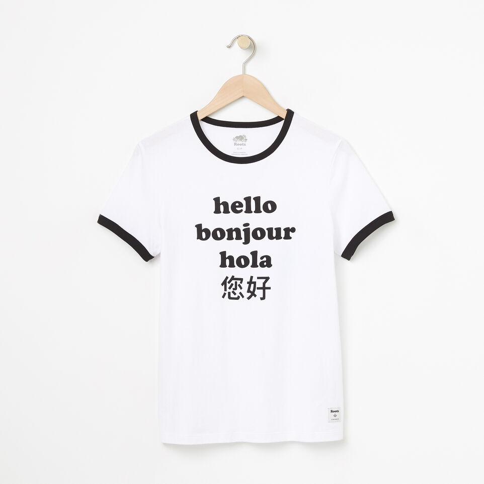 Roots-undefined-Womens Hello Friend T-shirt-undefined-A