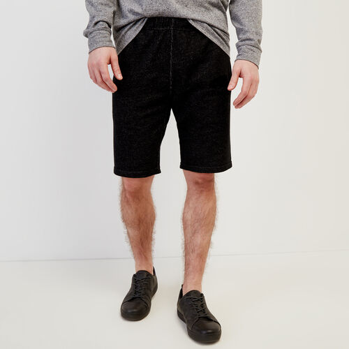 Roots-Men New Arrivals-Original Sweatshort-Black Pepper-A