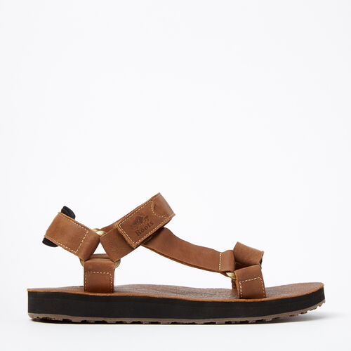 Roots-Winter Sale Men-Mens Tofino Sandal Leather-Natural-A