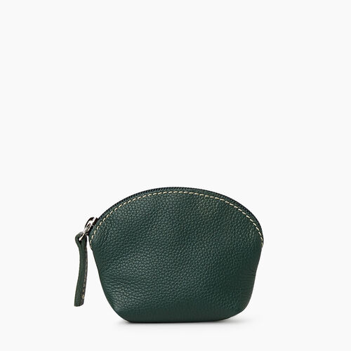 Roots-Leather Tech & Travel-Small Euro Pouch Cervino-Forest Green-A