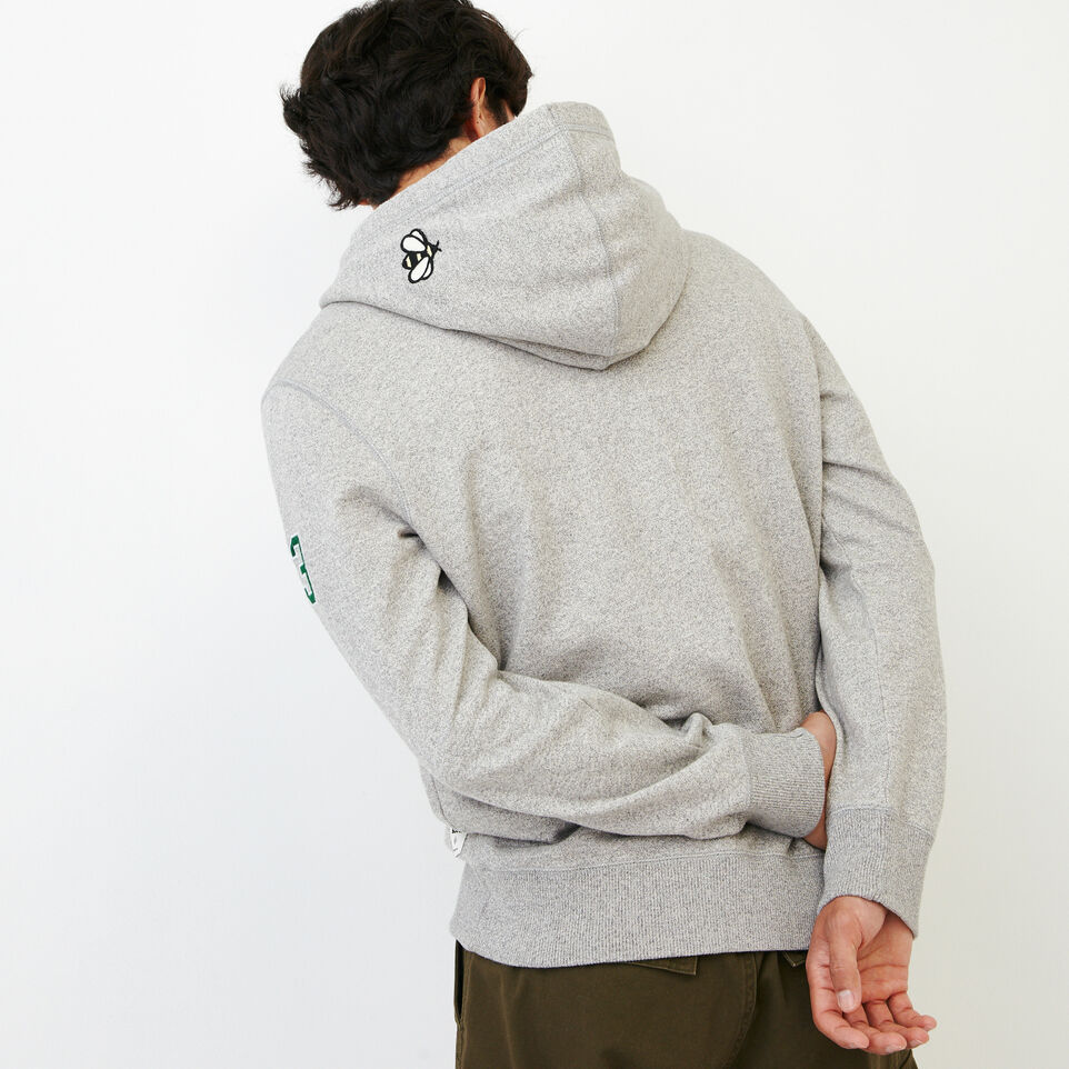 Roots-Men Our Favourite New Arrivals-Badges Full Zip Hoody-Grey Mix Pepper-D
