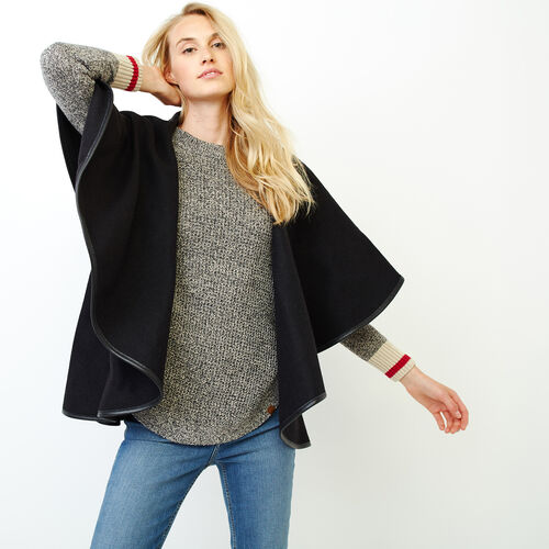 Roots-Women Our Favourite New Arrivals-Julia Cape-Black-A