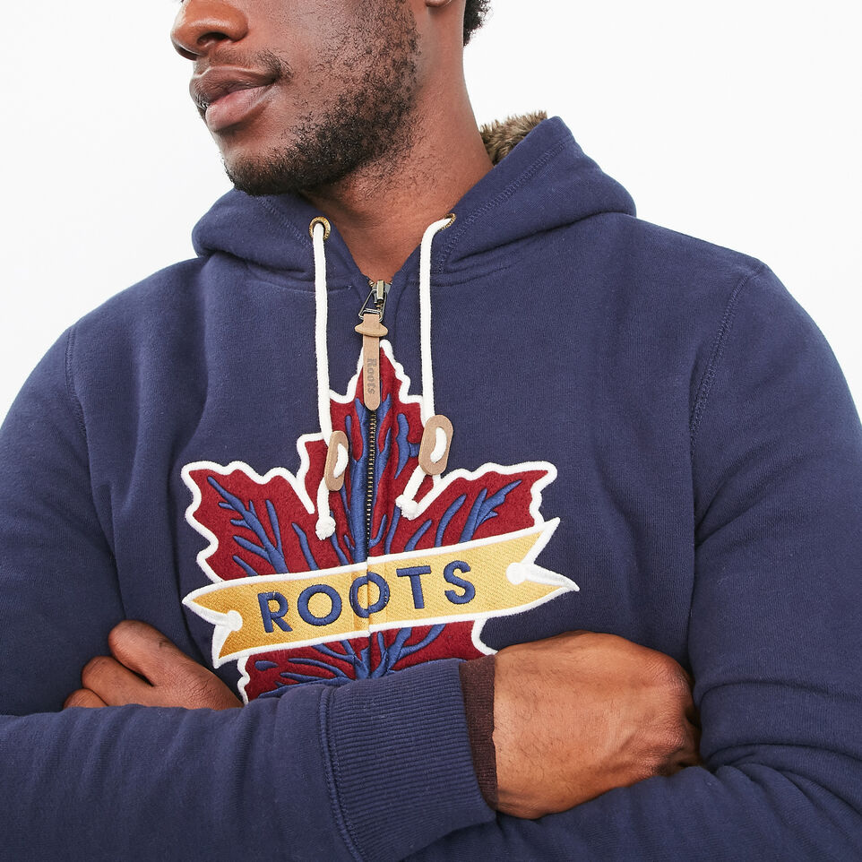 Roots-undefined-Heritage Fur Leaf Hoody-undefined-C