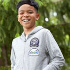 Roots-undefined-Boys Camp Patch Full Zip Hoody-undefined-C