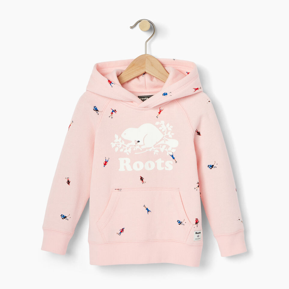 Roots-Kids Our Favourite New Arrivals-Toddler Skater Kanga Hoody-Light Pink-A