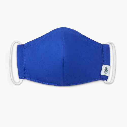 Roots-New For September Roots Reusable Face Masks-All Day Lightweight Reusable Face Mask-Royal Blue-A