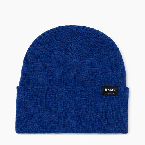 Roots-Men Accessories-Bracebridge Toque-Mazarine Blue-A