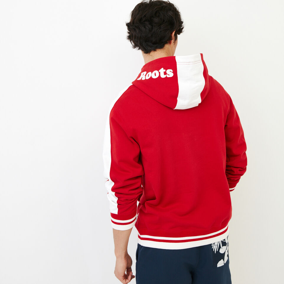 Roots-Men Our Favourite New Arrivals-Canada Hoody-Sage Red-D