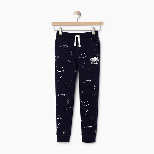 Roots-Kids Our Favourite New Arrivals-Boys Splatter Sweatpant-Navy Blazer-A