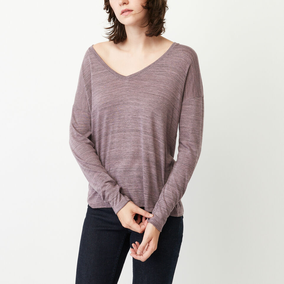 Roots-undefined-Courtenay V Neck Top-undefined-A