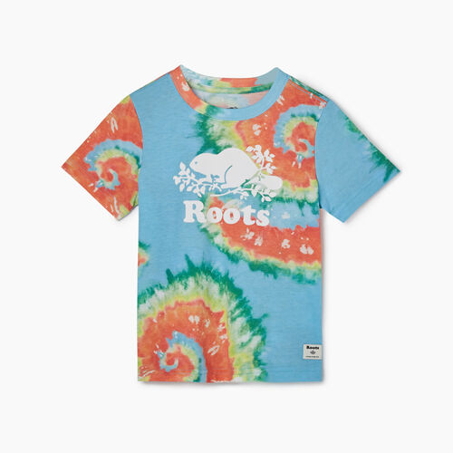 Roots-Kids New Arrivals-Toddler Cooper Beaver T-shirt-Multi-A