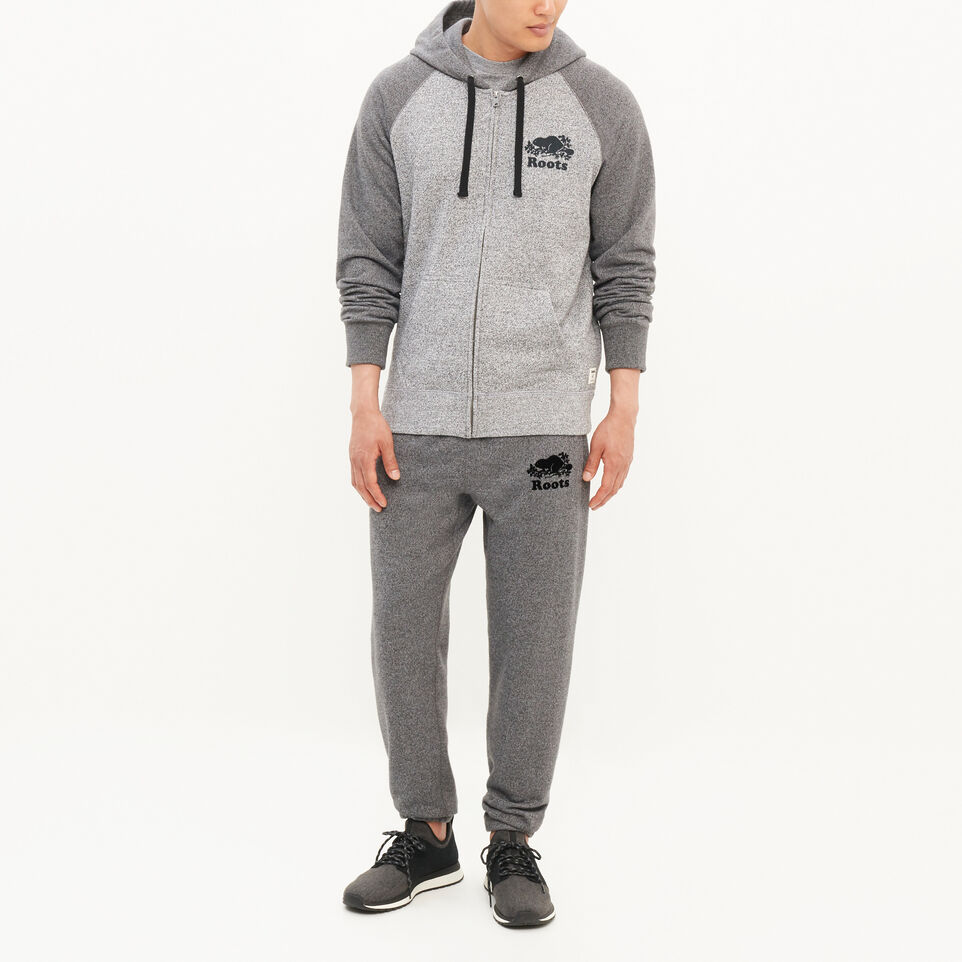 Roots-undefined-Original Contrast Zip Hoody-undefined-B