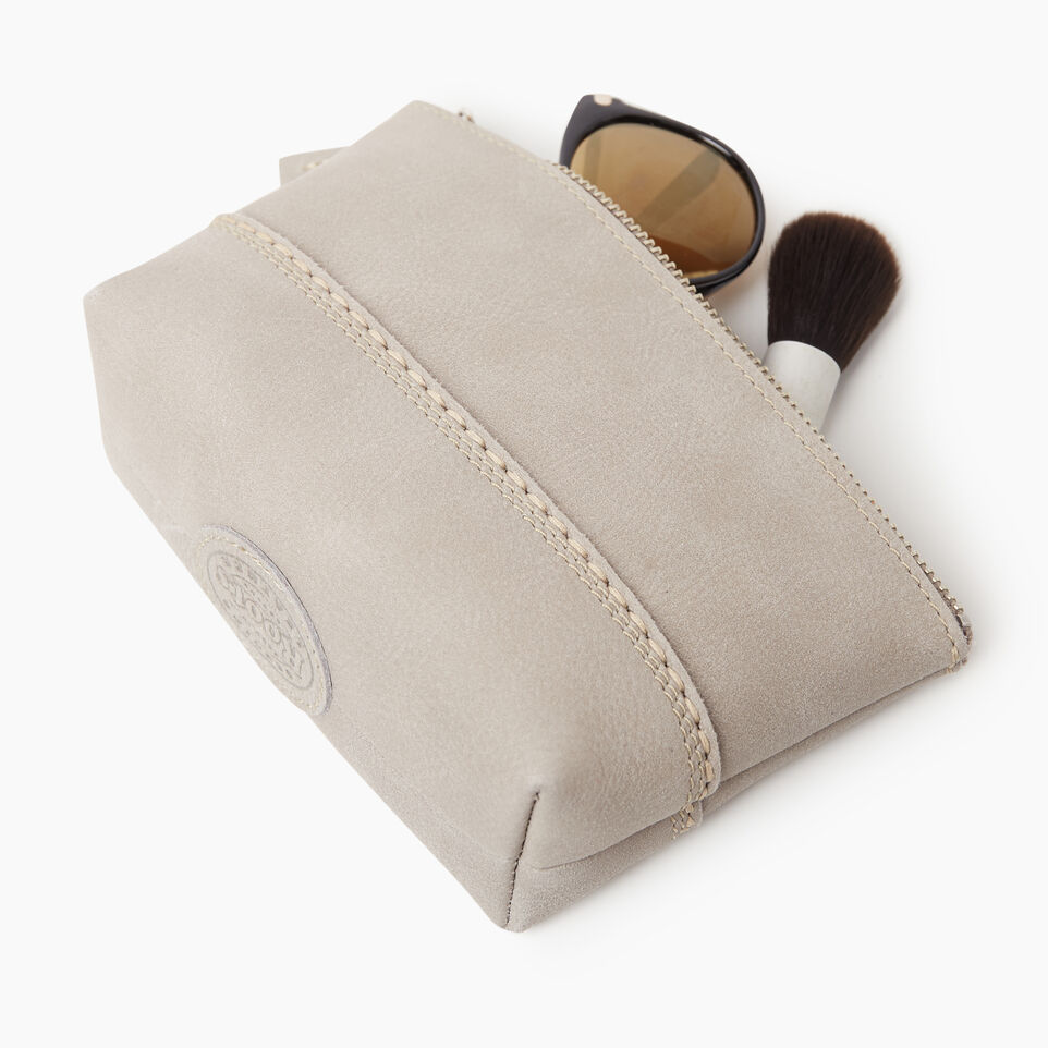 Roots-undefined-Petite pochette Canmore en cuir Tribe-undefined-C