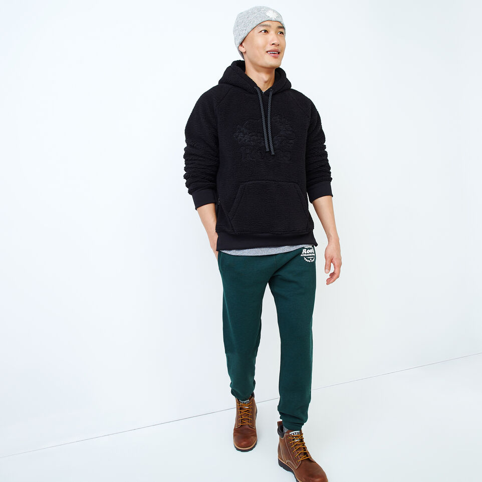 Roots-Men New Arrivals-Roots Sherpa Hoody-Black-B