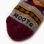 Roots-Women Our Favourite New Arrivals-Winter Fun Boot Sock-Purple-C