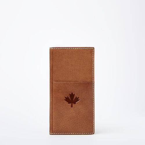 Roots-Men Wallets-Canada Ticket Wallet Tribe-Natural-A