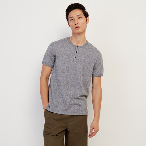 Roots-Men New Arrivals-Perfect Pepper Henley-Salt & Pepper-A