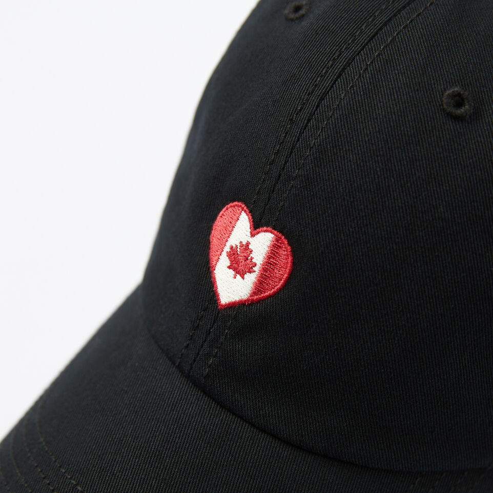 Roots-undefined-Canadian Heart Baseball Cap-undefined-D