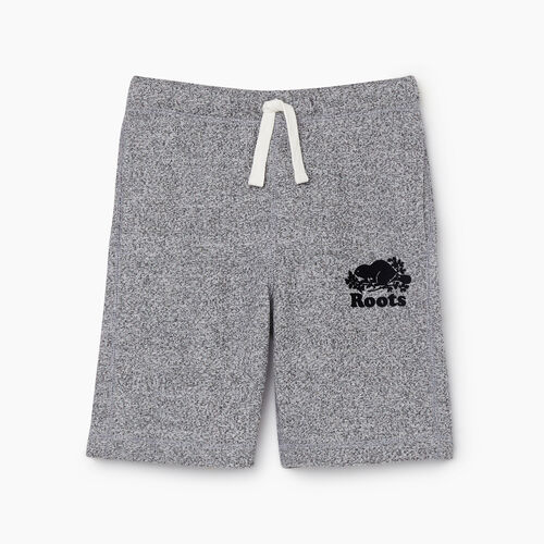 Roots-Kids New Arrivals-Boys Original Short-Salt & Pepper-A