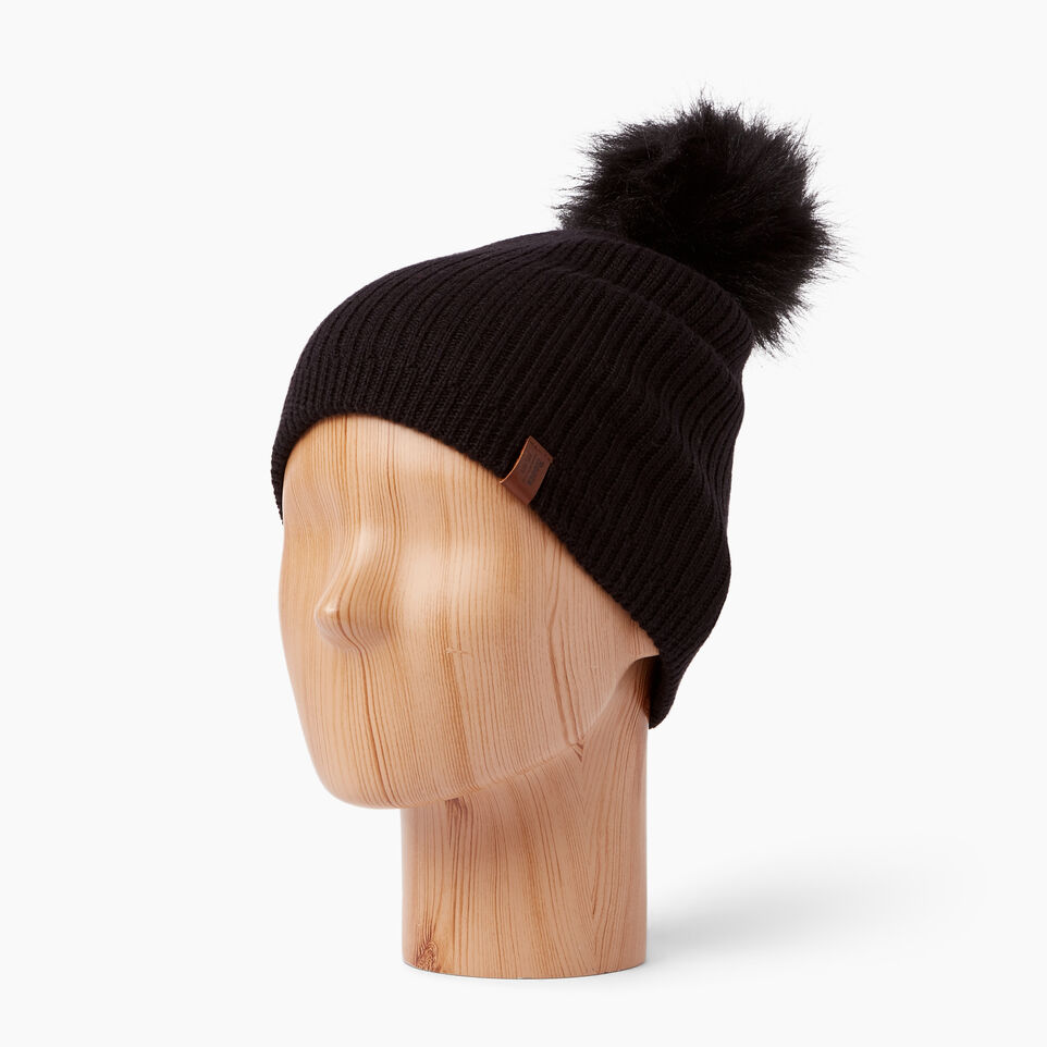 Roots-undefined-Dorval Faux Fur Pom Pom Toque-undefined-B