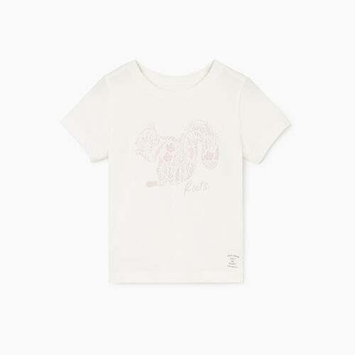 Roots-Kids New Arrivals-Toddler Woodland Animal T-shirt-Natural-A