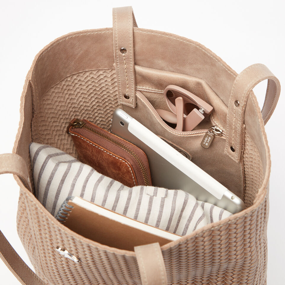 Roots-undefined-Large Downtown Tote Woven Tribe-undefined-E