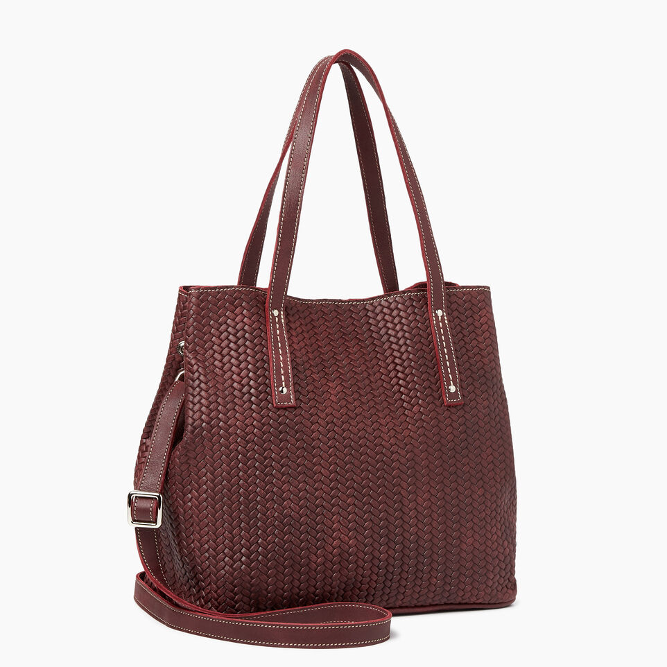Roots-Amelia Tote Woven Tribe