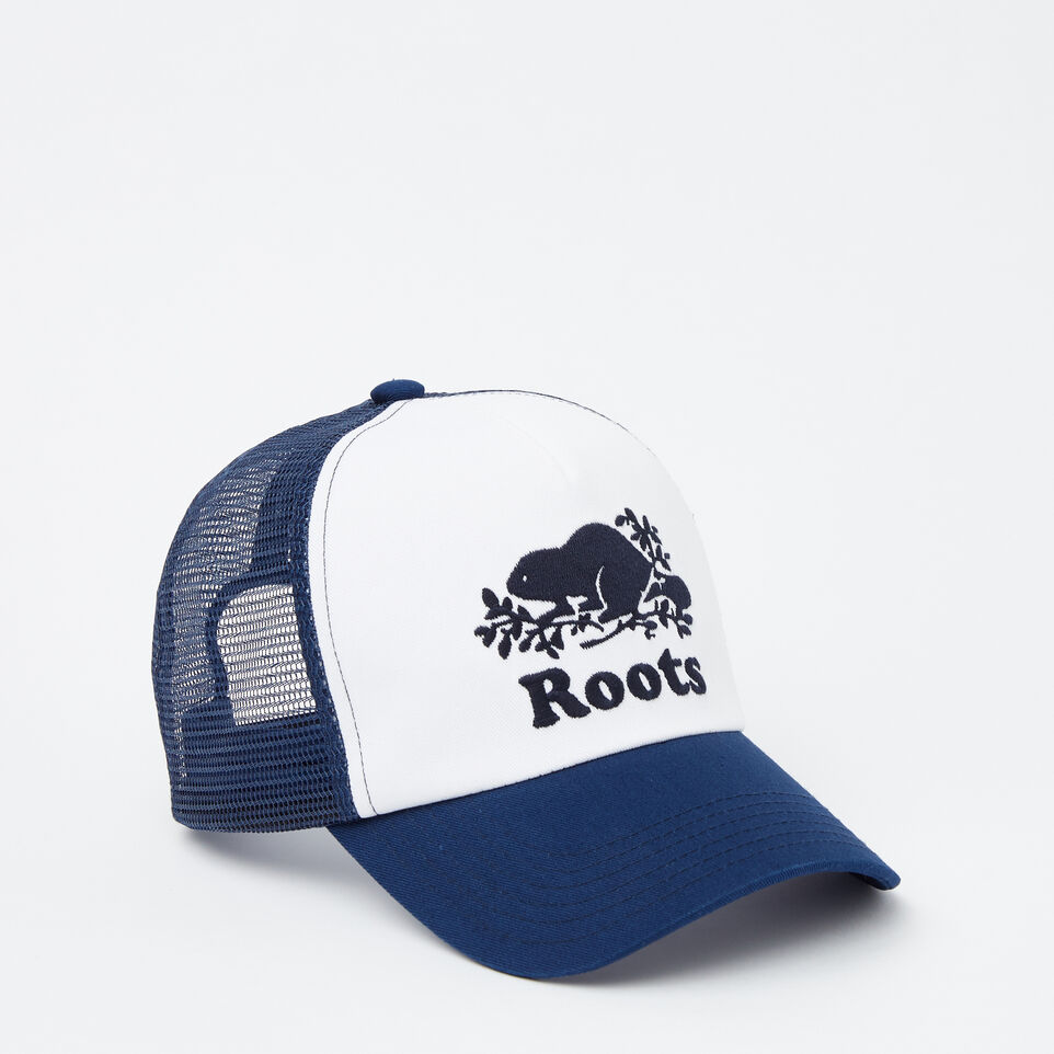 Roots-undefined-Kids Cooper Trucker Hat-undefined-A