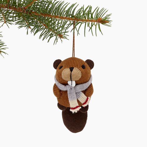 Roots-Men Our Favourite New Arrivals-Roots Beaver Ornament-Grizzly Brown-A