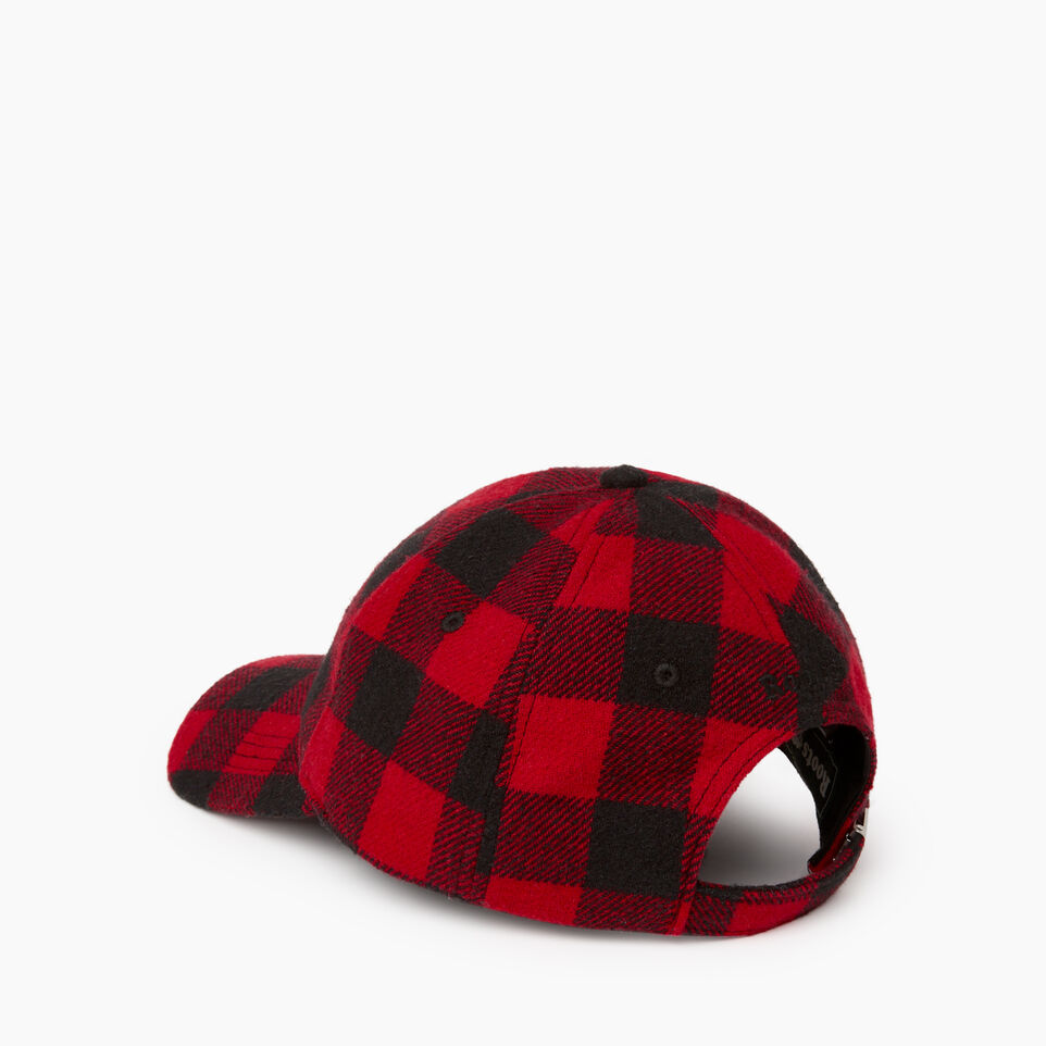 Roots-undefined-Park Plaid Leaf Baseball Cap-undefined-D