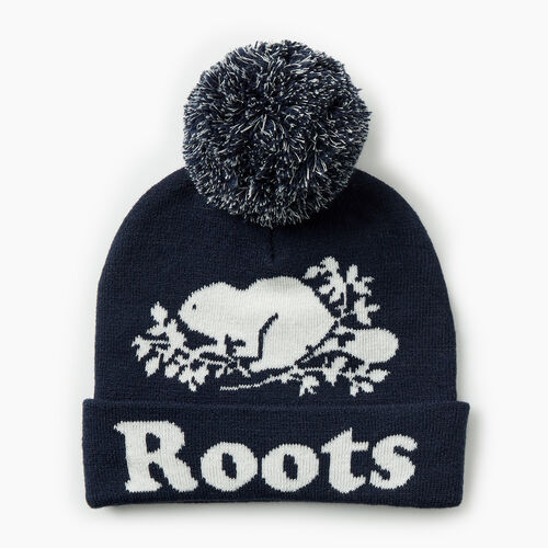 Roots-Gifts Gifts For Kids-Kids Cooper Glow Toque-Navy Blazer-A
