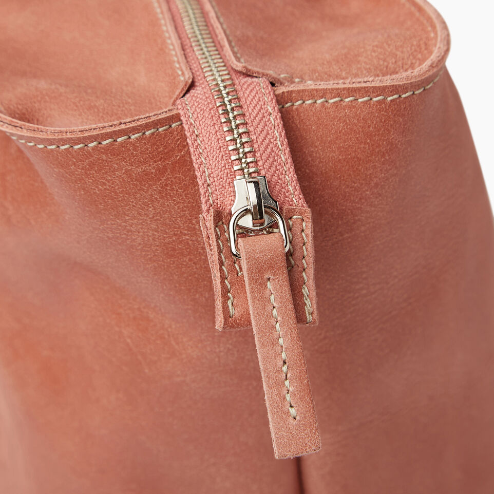 Roots-Leather Our Favourite New Arrivals-Mont Royal Tote-Canyon Rose/oak-E