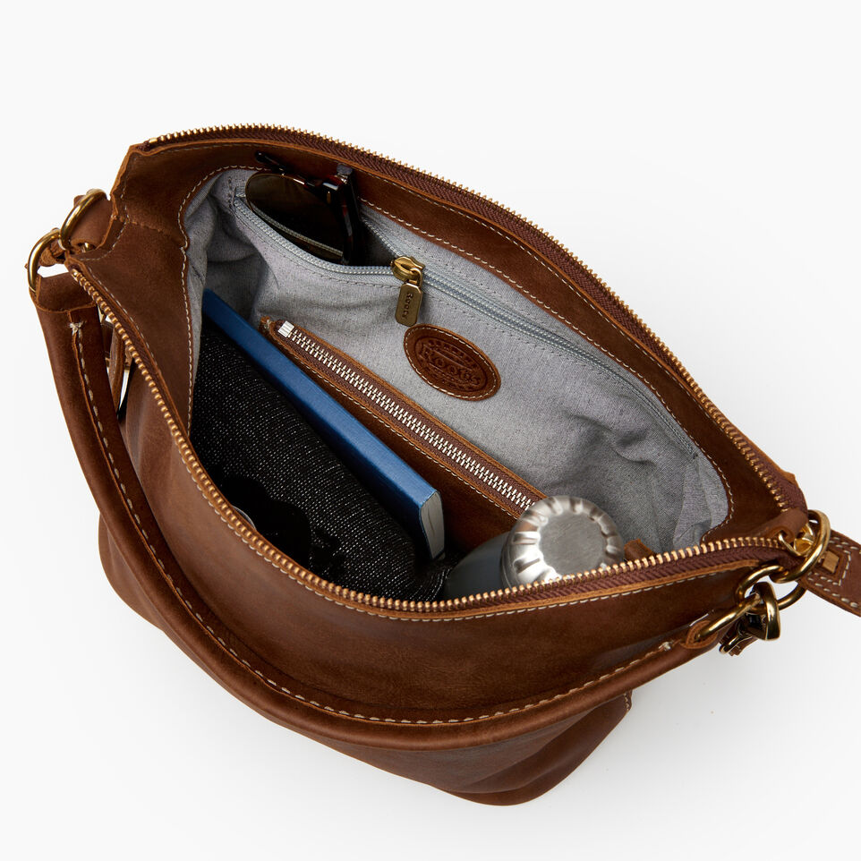 Roots-Leather  Handcrafted By Us Our Favourite New Arrivals-Ella Bag-Natural-E