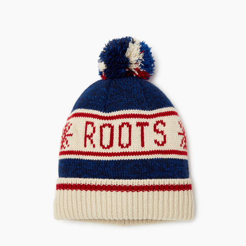 Roots-Sale Kids-Kids Cabin Toque-Navy Pepper-A