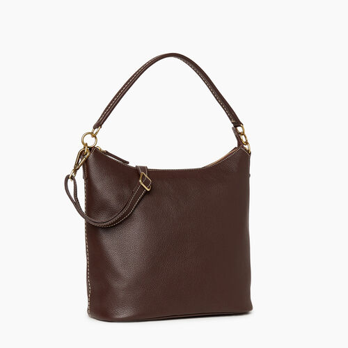 Roots-Leather Bestsellers-Ella Bag Cervino-Chocolate-A