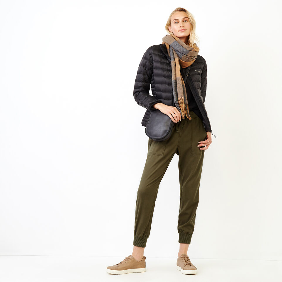 Roots-Women Clothing-Essential Jogger-Fatigue-B
