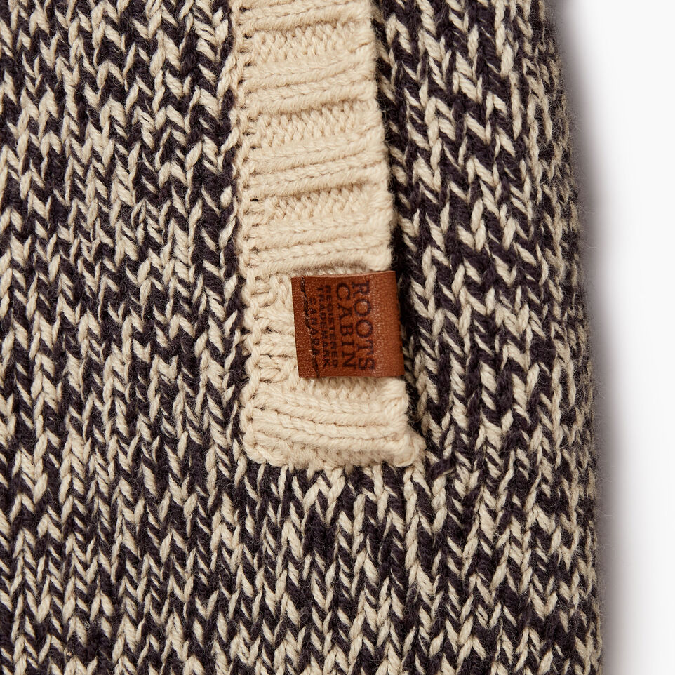 Roots-Kids Boys-Boys Roots Cabin Shawl Cardigan-Grey Oat Mix-E