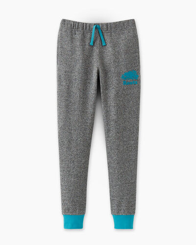 Roots-Sweats Girls-Girls Cooper Pop Slim Sweatpant-Peacock Blue-A