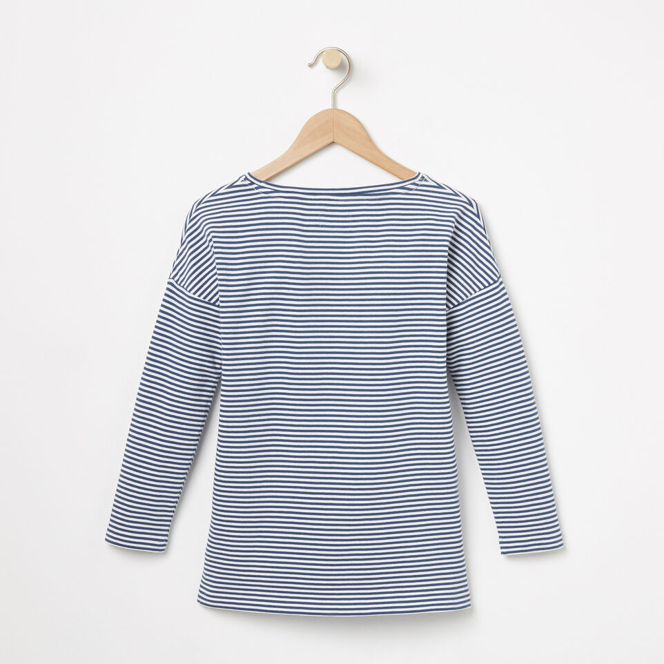 Roots-undefined-Girls Ava Stripe Top-undefined-B