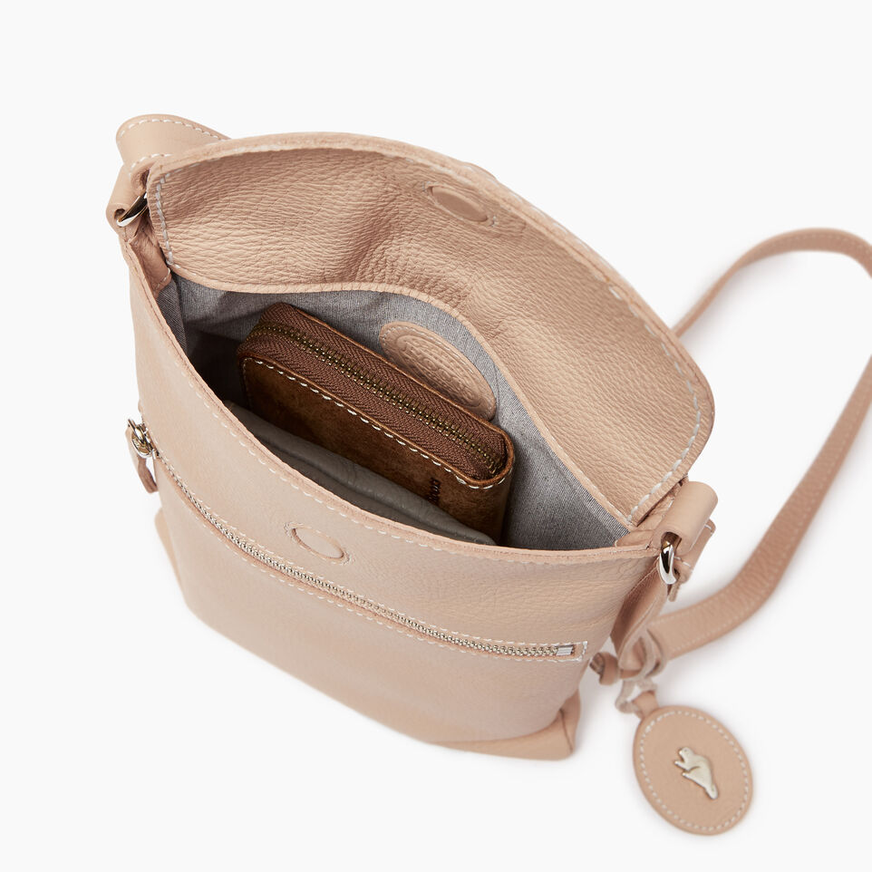 Roots-Leather  Handcrafted By Us Our Favourite New Arrivals-Riverdale Flat-Pink Mist-D