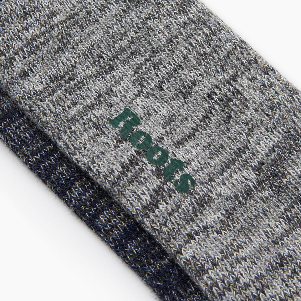 Roots-Men Our Favourite New Arrivals-Camp Sock 2 Pack-Navy-D