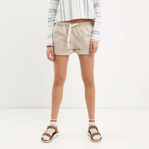 Roots-Sale Bottoms-Woodland Short-Natural-A