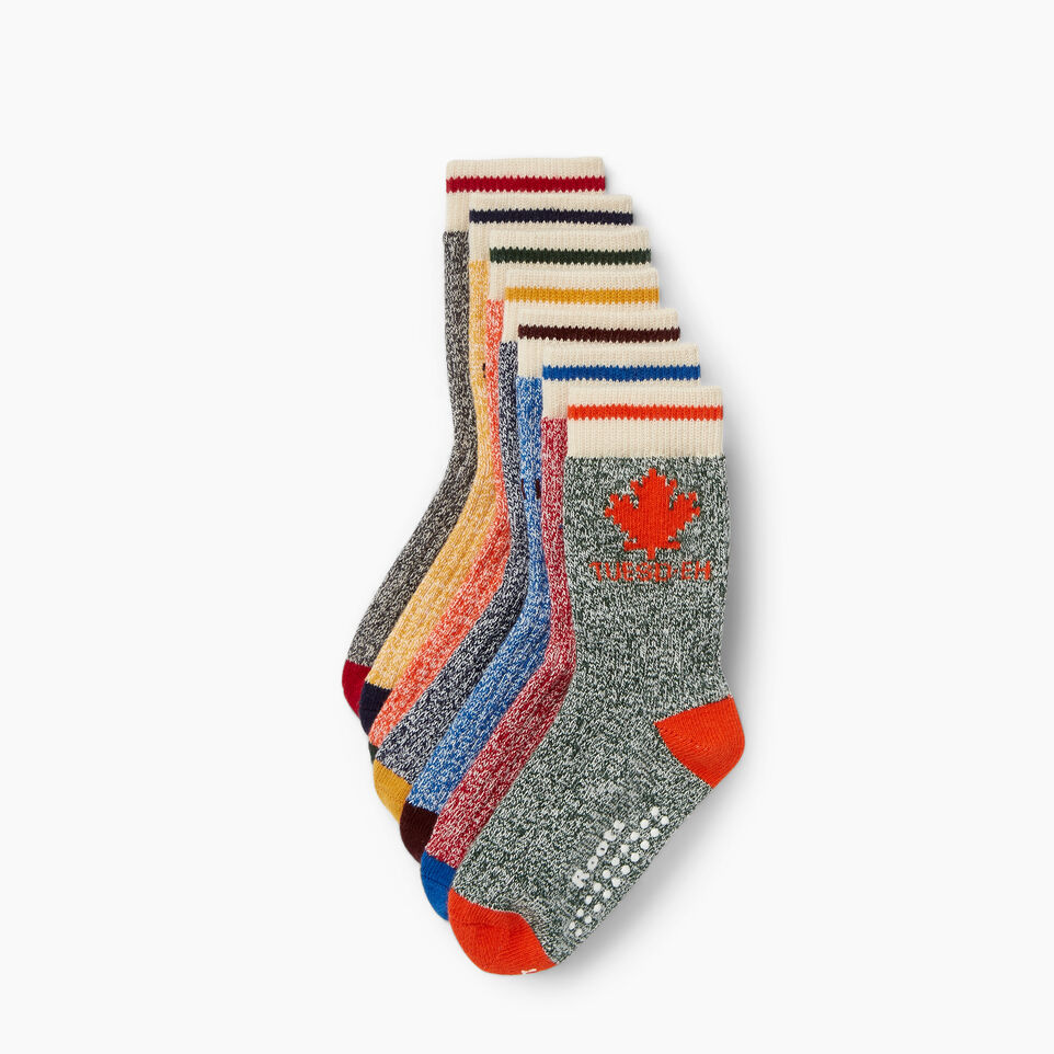 Roots-Kids Our Favourite New Arrivals-Toddler Days Sock 7 Pack-Multi-B