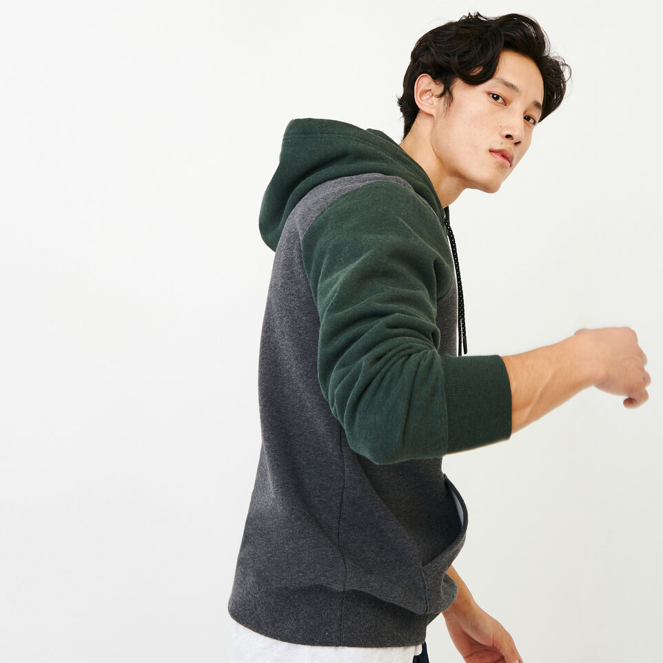 Roots-Men Our Favourite New Arrivals-Athletic Dept. Hoody-Charcoal Mix-C
