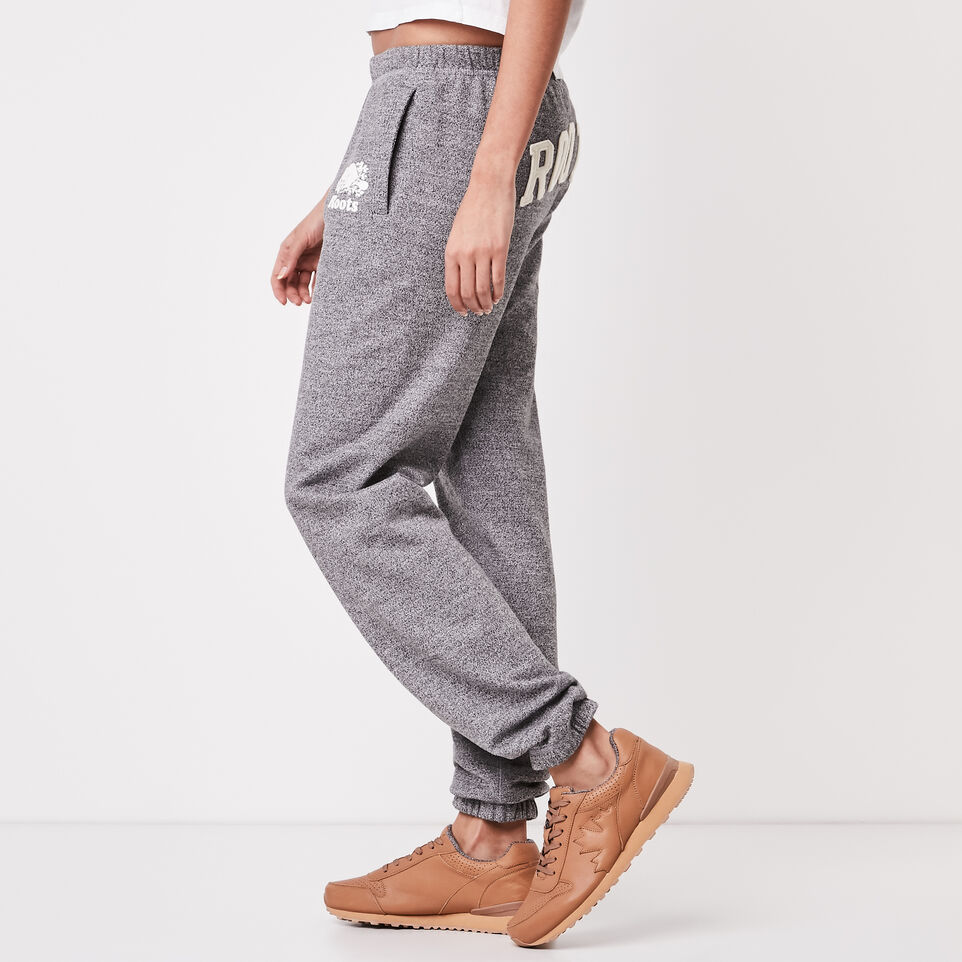 Roots-undefined-Roots Salt and Pepper Boyfriend Sweatpant-undefined-C