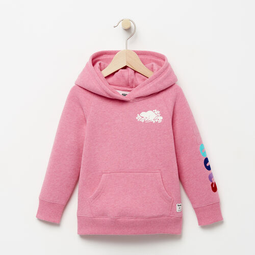 Roots-Kids Tops-Toddler Roots Remix Hoody-Pink Mix-A