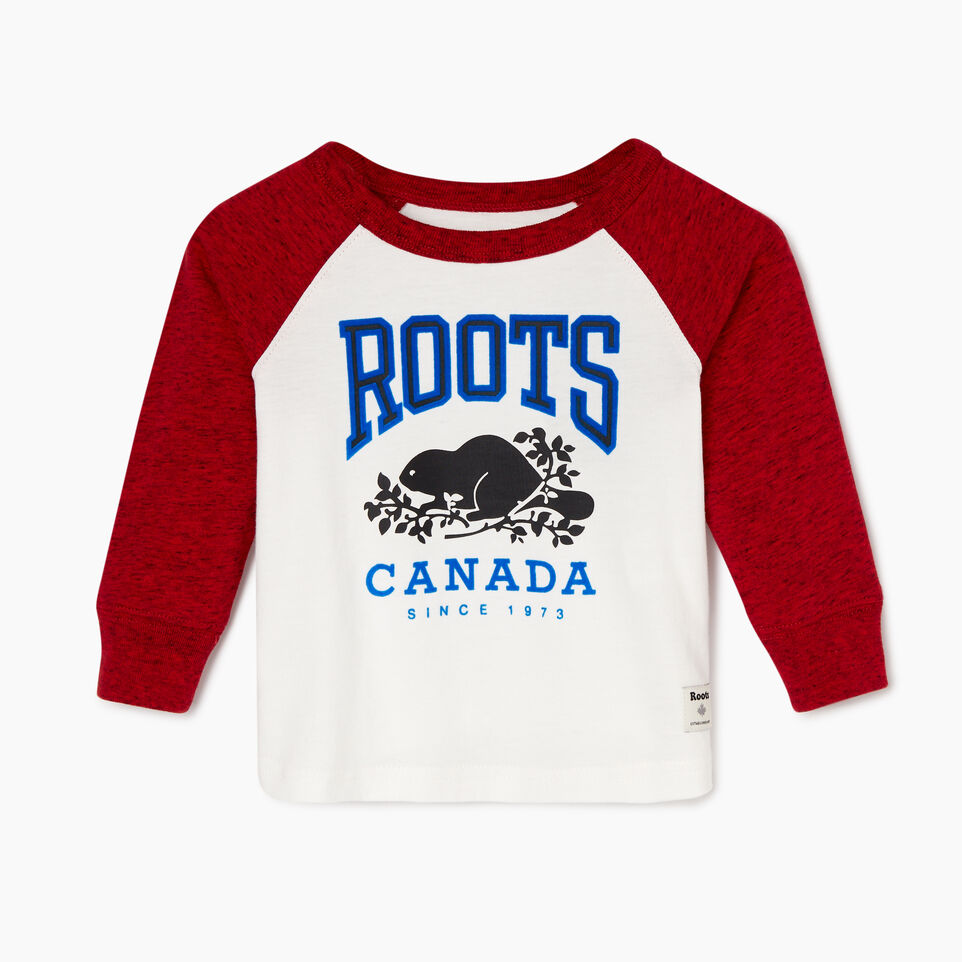 Roots-undefined-Baby Classic Raglan T-shirt-undefined-A
